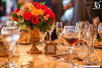 casamento matinal, realizado às 11h, com cerimônia na Igreja Nossa Senhora da Assunção, a famosa Capelinha da Assunção, em Porto Alegre e recepção e festa no salão principal do Clube Campestre Macabi, com decoração romântica e delicada, com muitas pérolas e detalhes em dourado