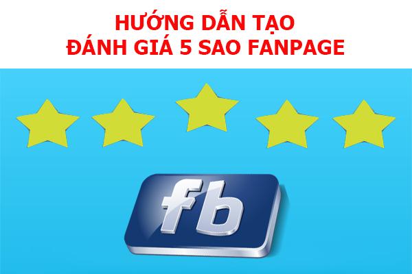 tang danh gia 5 sao tren fanpage