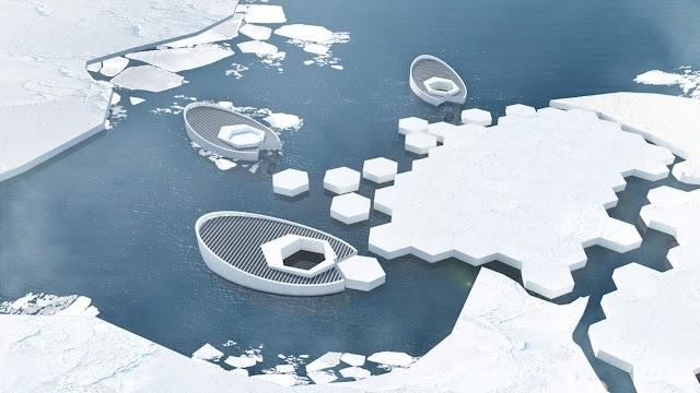 Ý tưởng mới : tái tạo băng bắc cực để giữ đất liền không chìm xuống đại dương
