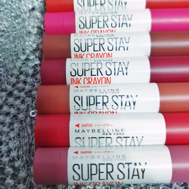 MAYBELLINE SUPER STAY INK CRAYON (REVIEW)