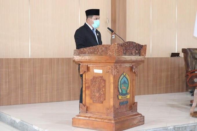 Hadir Di Ruang Sidang DPRD Dompu, Bupati Dompu Sampaikan Ini Pada Anggota Legislatif