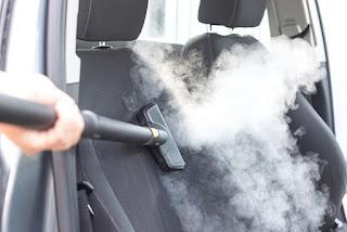كيفية غسيل السيارة بالبخار