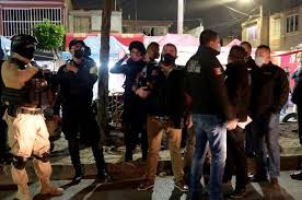 Mexico police break up underground parties to enforce Covid-19 rules