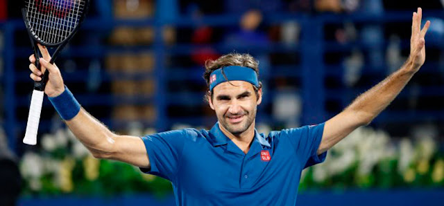 Federer venció por 7-6 (6), 6-4 a Marton Fucsovics en las semifinales del torneo de Dubai.