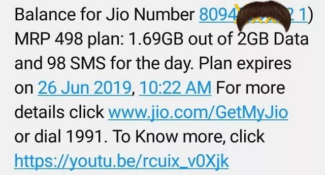Find jio number