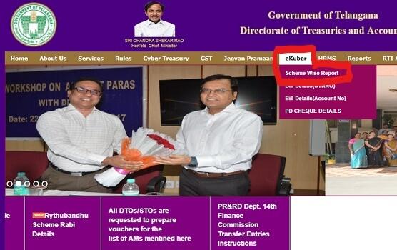 Rythu Bandhu Scheme Beneficiary Status