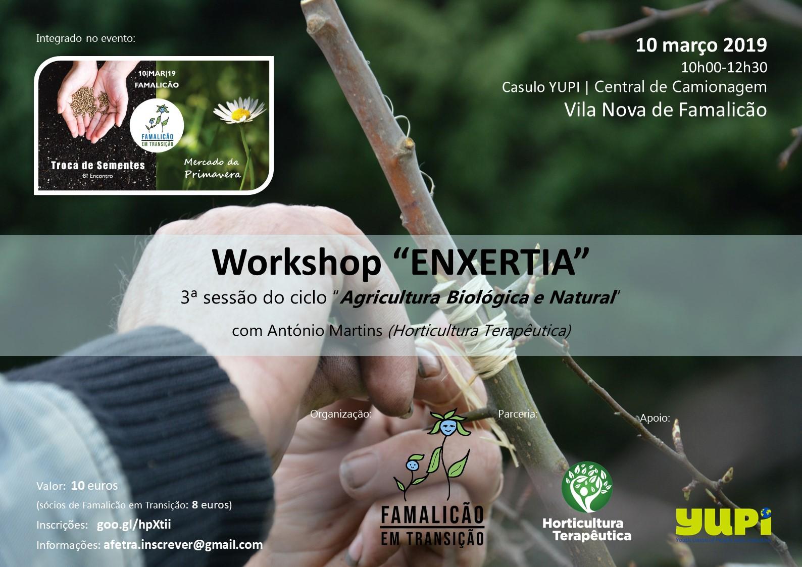 Workshop Enxertia - 10 março