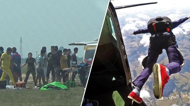 Skydiver maut terhempas ke tanah selepas payung terjun gagal dibuka sepenuhnya