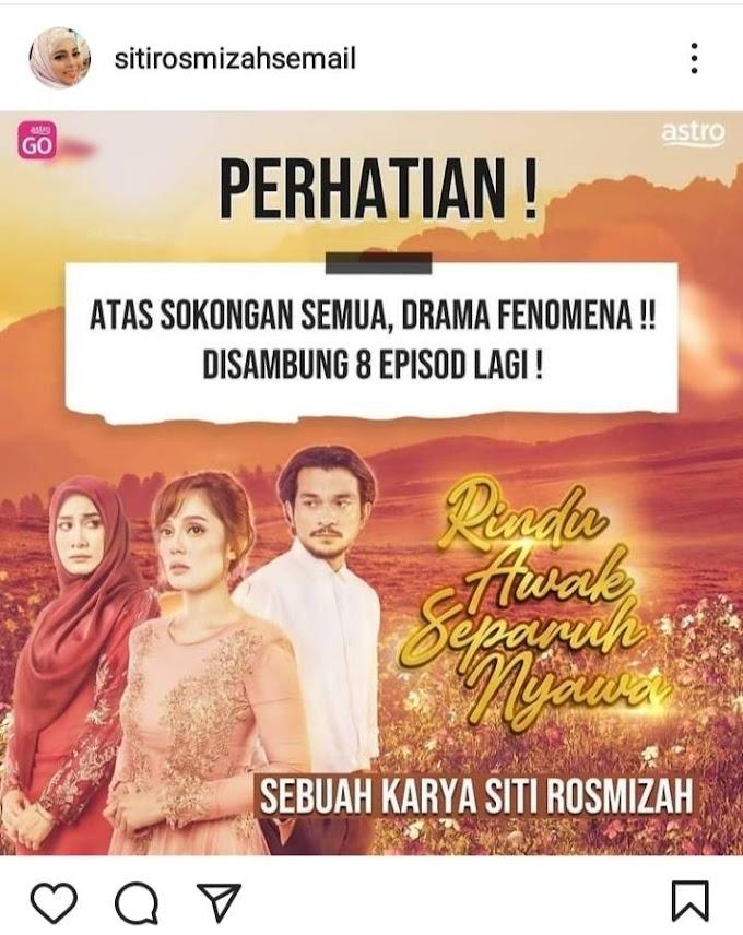 Tonton Drama Rindu Awak Separuh Nyawa Full Episod 1- 48