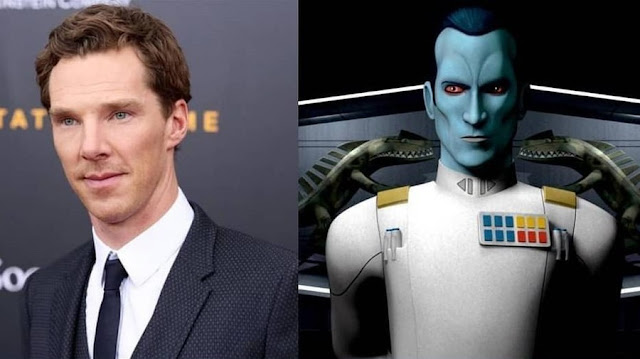 Benedict Cumberbatch Not Interested in Playing Thrawn in The Mandalorian