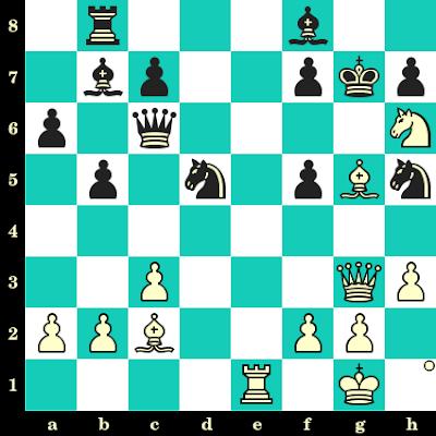Les Blancs jouent et matent en 2 coups - Sanan Sjugirov vs Alexander Tjurin, Moscou, 2008