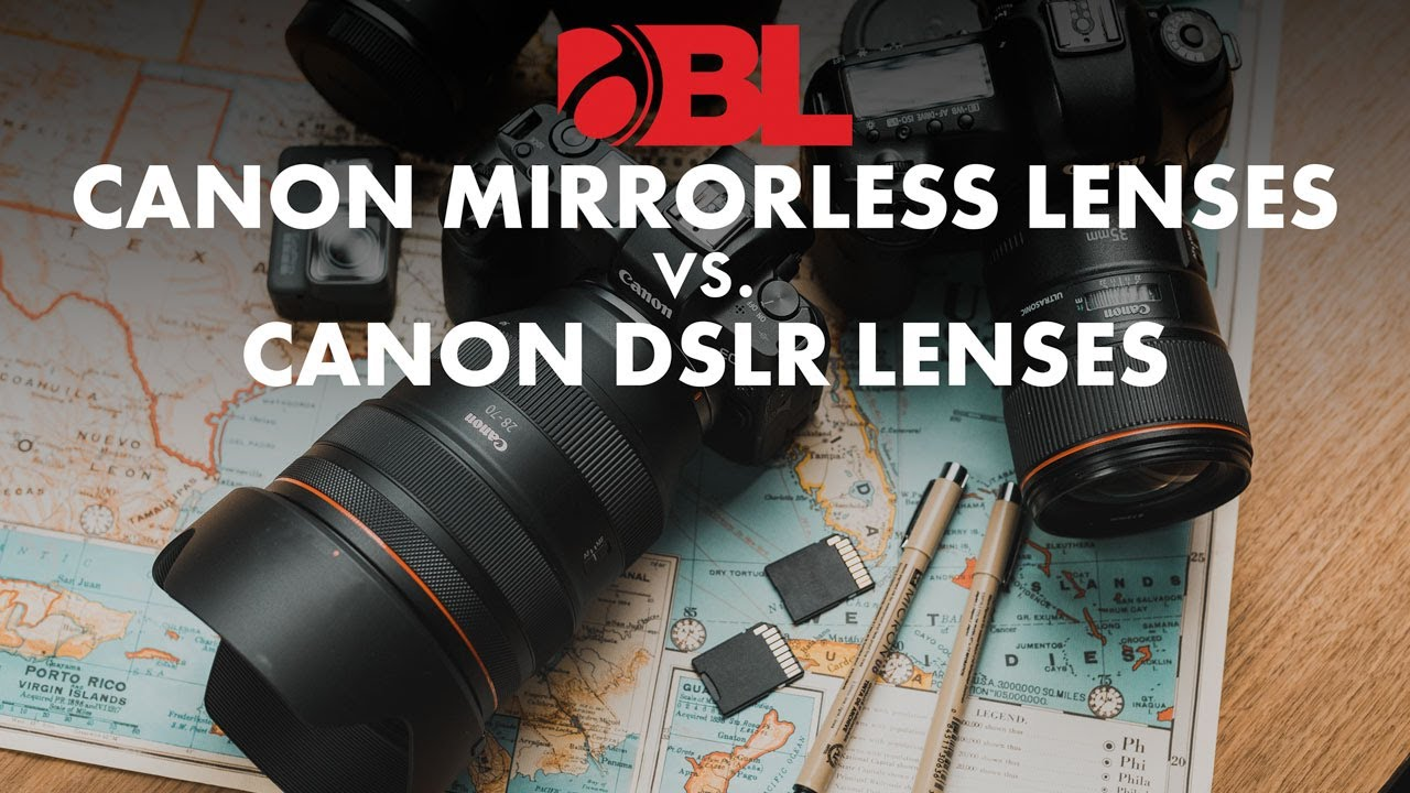 Canon RF vs EF Lenses - Which are the Best?