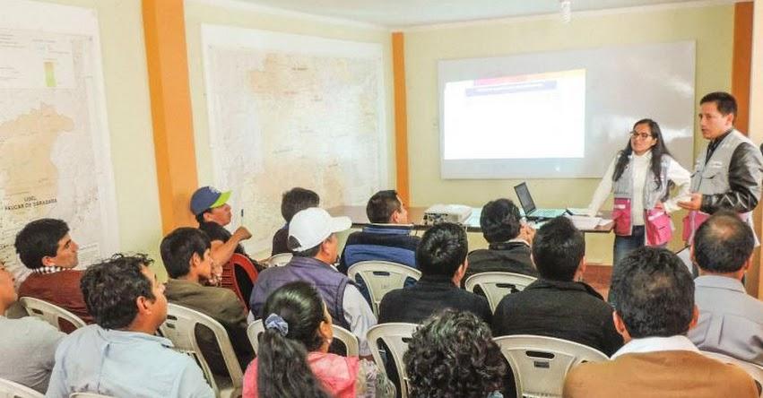 QALI WARMA: Postores reciben información detallada de segunda convocatoria del Proceso de Compra 2018 en Ayacucho - www.qaliwarma.gob.pe