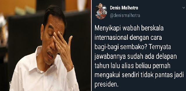 Jokowi: Saya Tak Pantas Jadi Presiden
