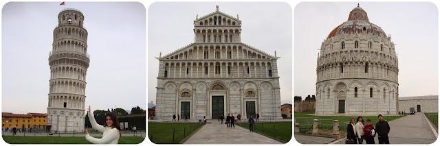 Pisa / Itália / Torre Sineira / Catedral