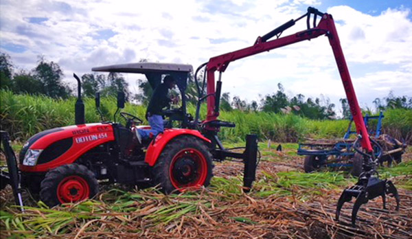 Iron Elk Heavy Agricultural equipment importer - sugarcane farm - Negros Occidental - Bacolod City - Bacolod blogger - tractor