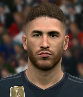 PES 2017 Faces Sergio Ramos by Ben Hossam FaceMaker