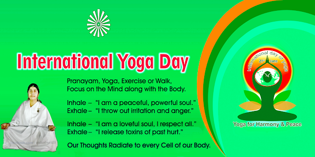 BK Shivani International Yoga Day