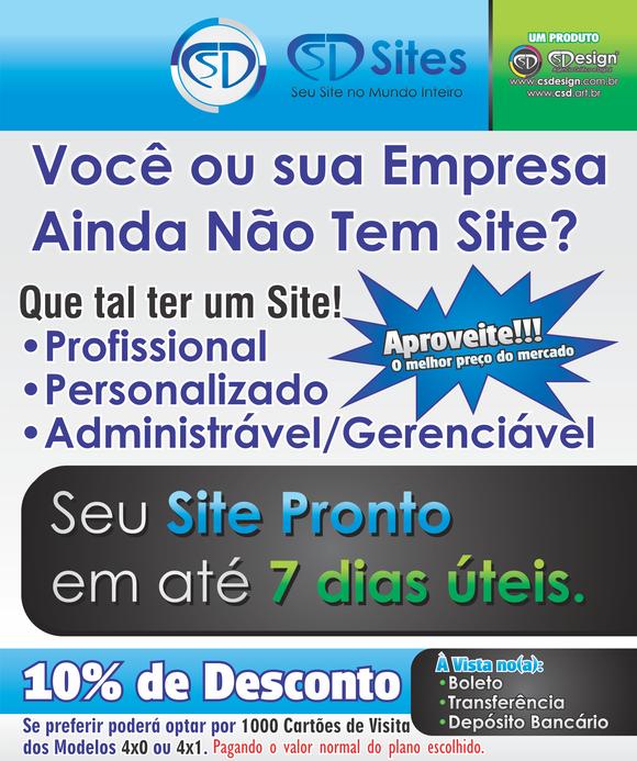 Planos CSD Sites
