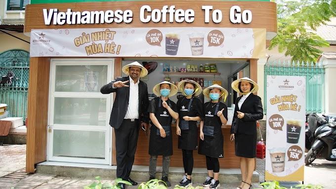 Vietnamese Coffee To Go - cà phê mang đi kết hợp phục vụ nhà vệ sinh công cộng