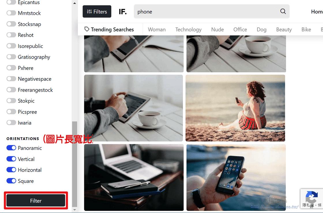 Image Finder收集 30 個免費圖庫 26 萬張高畫質圖片