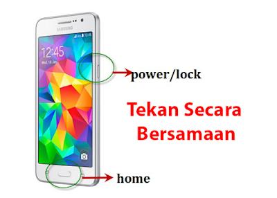Cara Mengambil Screenshot di HP Samsung Semua Tipe 5