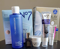 Products used in Nighttime skincare routine