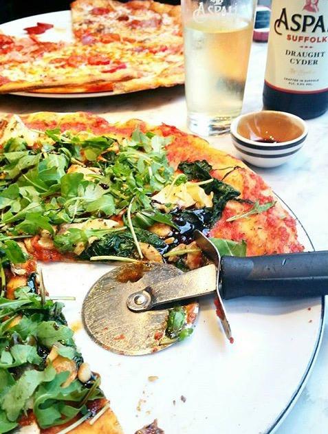 Pizza Express Pianta - Vegan Pizza