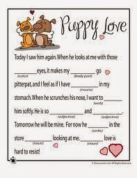 Valentine Mad Libs 7