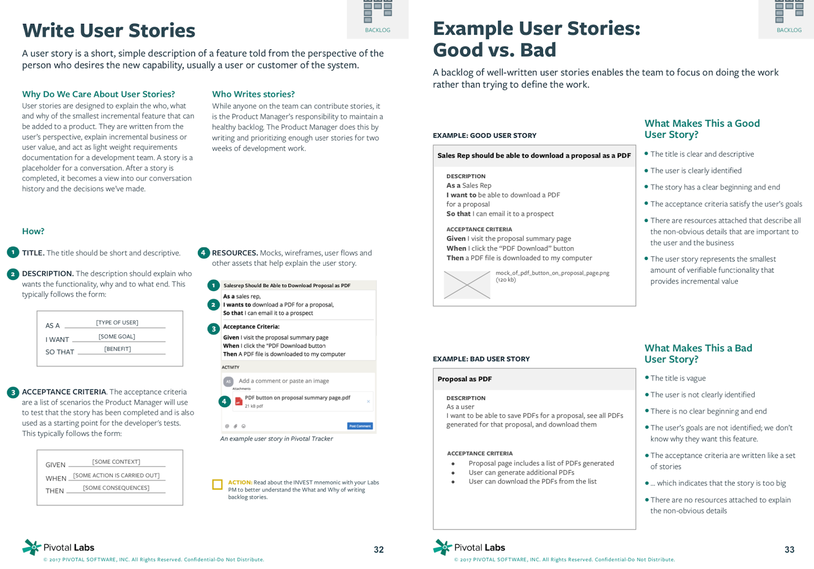 All Things Cloud: How To Write Good User Stories - What makes a