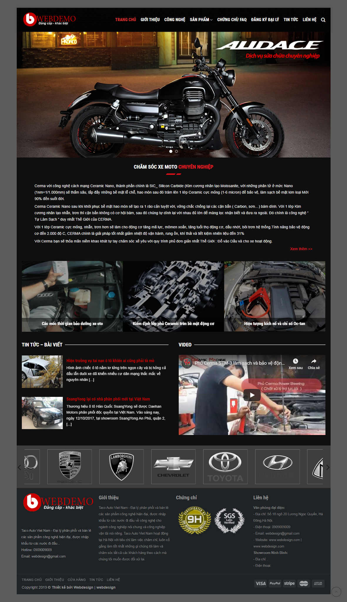 mẫu motocare