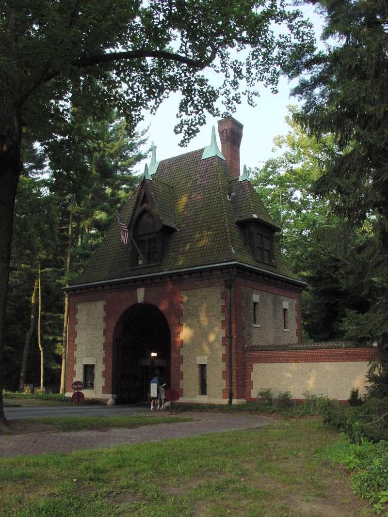 Guard House Entrance