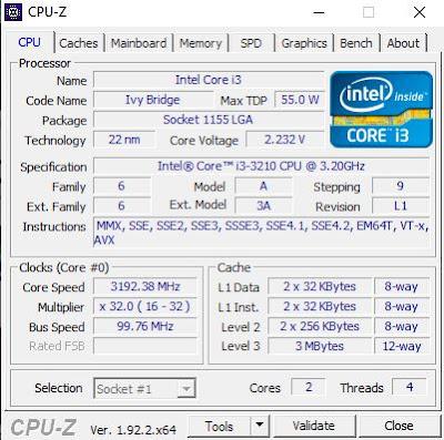 gambar CPU-Z