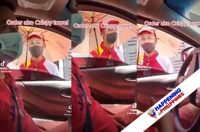 Isang TikToker na Nag Order ng 'Crispy Fried Towel' Inulan ng Pambabatikos ng Mga Netizen