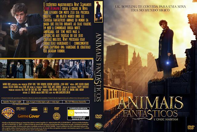 Capa DVD Animais Fantásticos E Onde Habitam [Exclusiva]