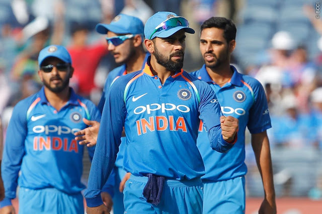 Team India Internationals matches schedule of 2019, team india