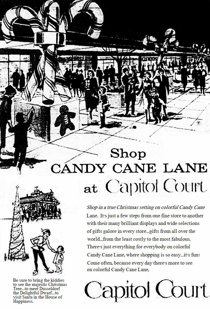 Candy cane lane advert from www kookycookyhouse com