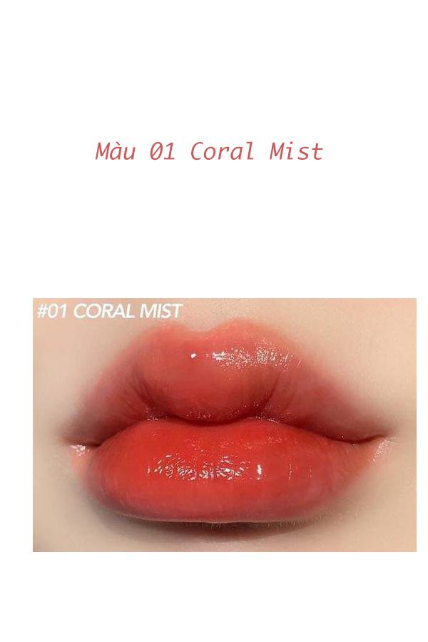 Màu A01- Coral Mist: Hồng cam san hô