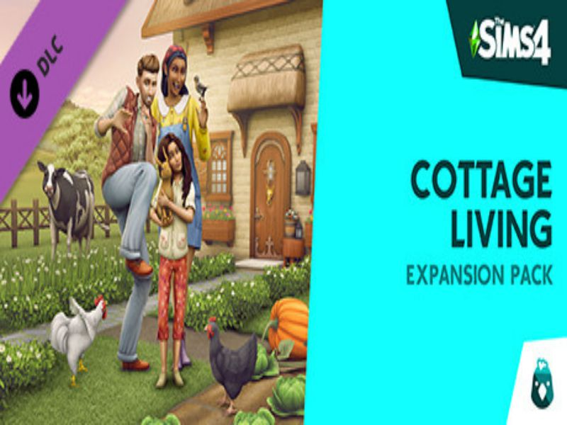 Download The Sims 4 Cottage Living Game PC Free