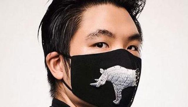 Masker motif hewan