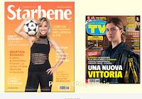 Logo Starbene con Tv Sorrisi e Canzoni: insieme in edicola