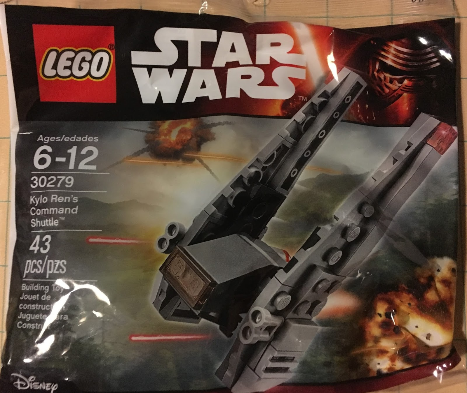 Dark Cloud Blogs Lego Star Wars Kylo Rens Command Shuttle 30279