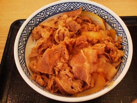 牛丼1 吉野家岐阜羽島店