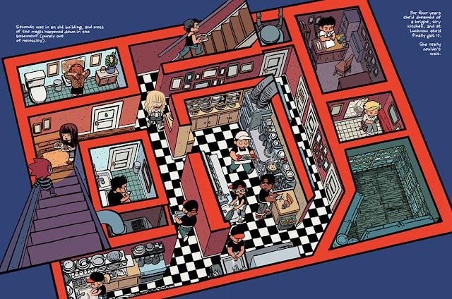 O'Malley - lettura corso di fumetto Castello Milano