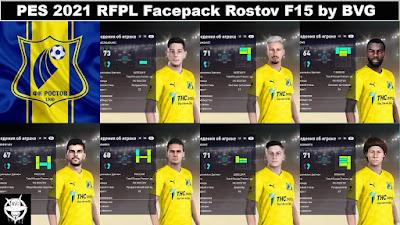 PES 2021 RFPL Facepack Rostov F15 by BVG