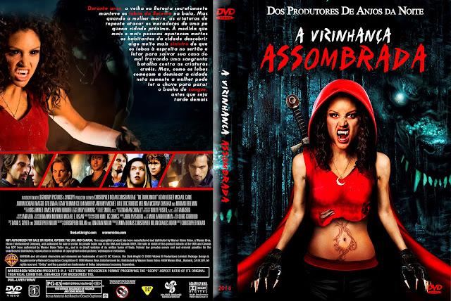 Capa DVD A Vizinhança Assombrada