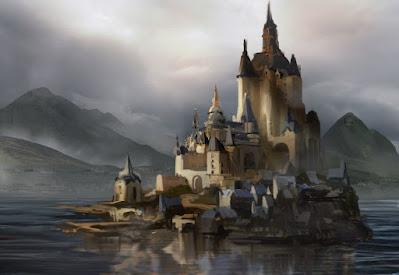 Castle on the rocks, Thomas Salonga