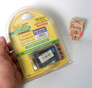 Jual baterai Panasonic VBD21