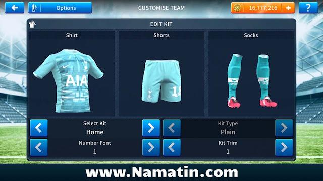 Download Kaos Dream League Soccer Tottenham