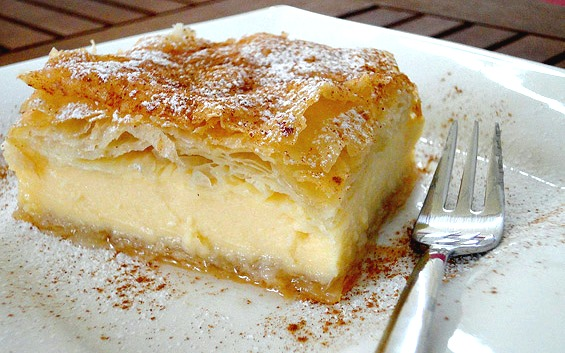Galaktoboureko (Greek Syrup Custard Pie)